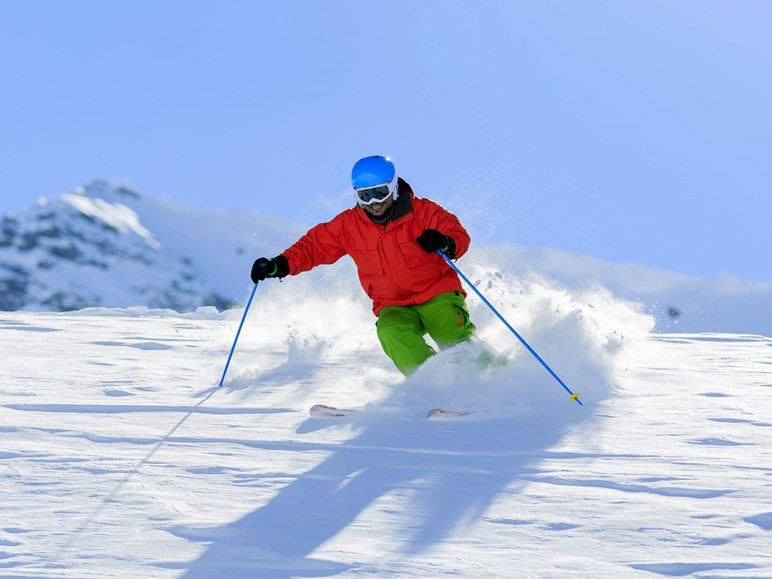 Kashmir attractions skiing in gulmarg
