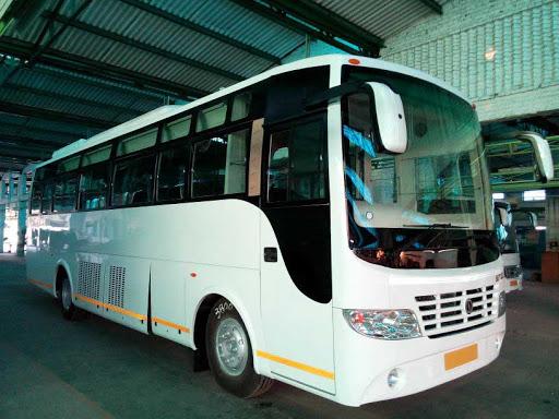 swaraj mazda bus